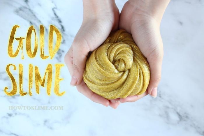Gold Slime Recipe