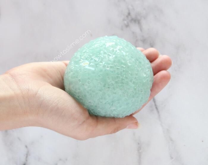 How To Make Crunchy Slushie Slime