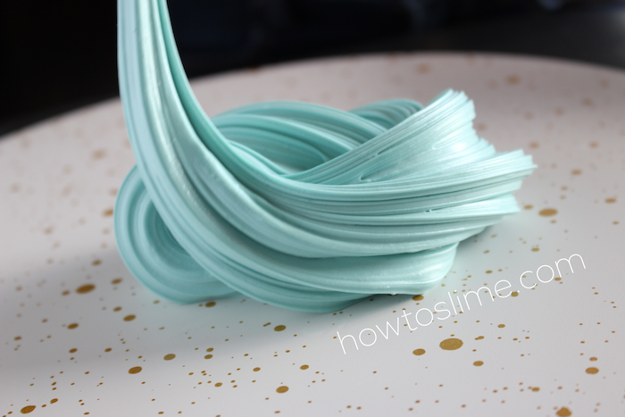 Fluffy Slime Recipe with Borax